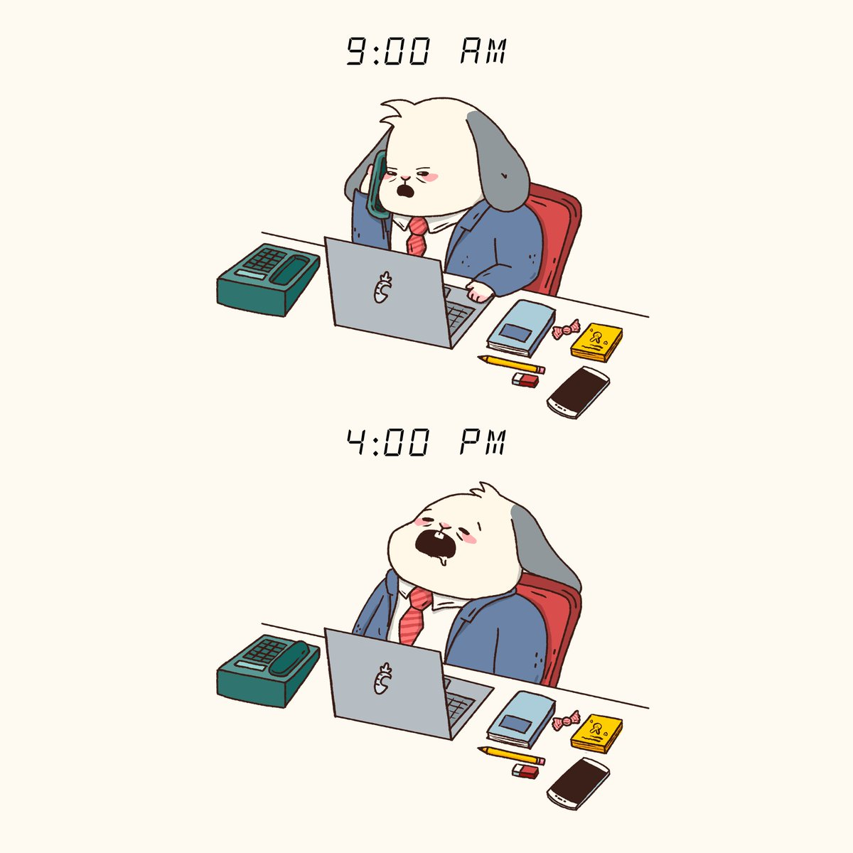 Everyday #illustration #work #cute