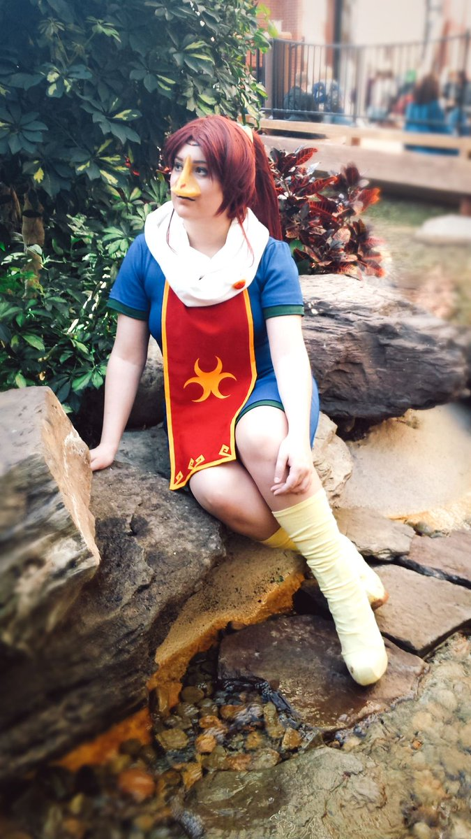 I couldn't go Katsu this year so here's a pic of my Medli cosplay from last year! ;3  #katsucon #katsu #medli #LegendofZelda #windwaker #loz #cosplay #cosplayergirl #gaming #videogames #cute