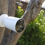 Image for the Tweet beginning: Kami launches battery-powered outdoor security