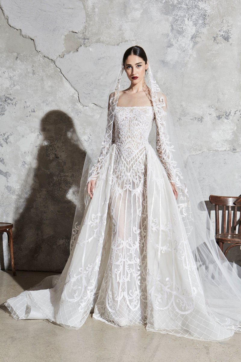 Wedding Dress du jour: Zuhair Murad #WeddingDresspic.twitter.com/oGuporUYex