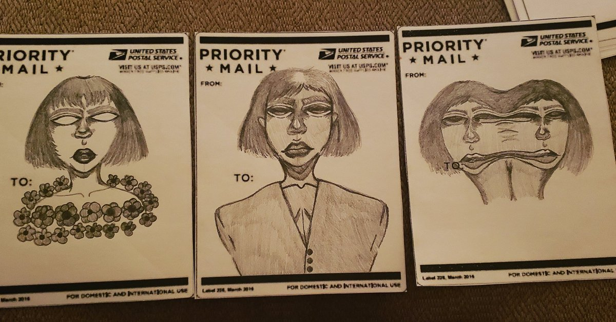 I'm going to start selling slaps. These are ones I've worked on so far. There'll be more to come!  #slaps #art #artist #sketches #shading #faces #portraits pic.twitter.com/wAOz2D1eGR