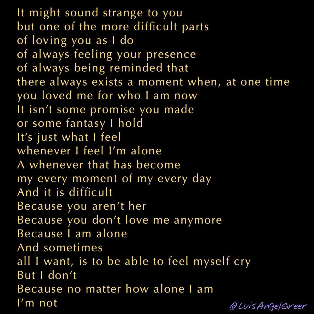 The opening thought for Wednesday, February 26, 2020.  #poem #poetry #prose #bleedingedgepoetry #originalpoetry #poetryforthesoul #spilledwords #spilledthoughts #spilledink #darkpoetry #humanityisafailedturingtest #love #lovepoem #lovepoemspic.twitter.com/ogDtdAztDJ