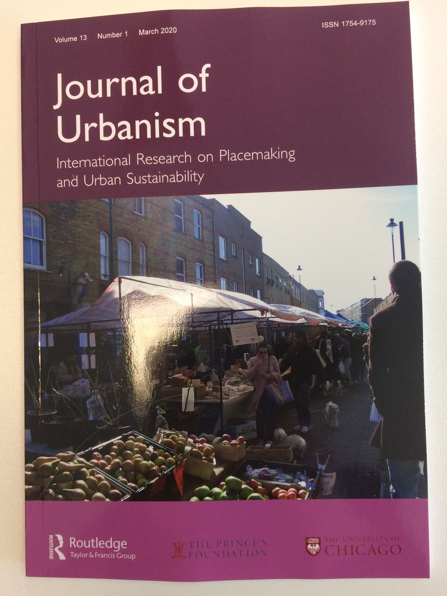 Food and Urbanism Special Issue of The Journal of Urbanism is out! Check out the papers and my editorial here! http://www.tandfonline.com/rjoupic.twitter.com/2jzDOk1pJW