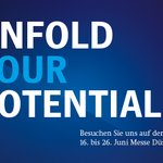 """Image for the Tweet beginning: """"Unfold your potential"""" – das"""