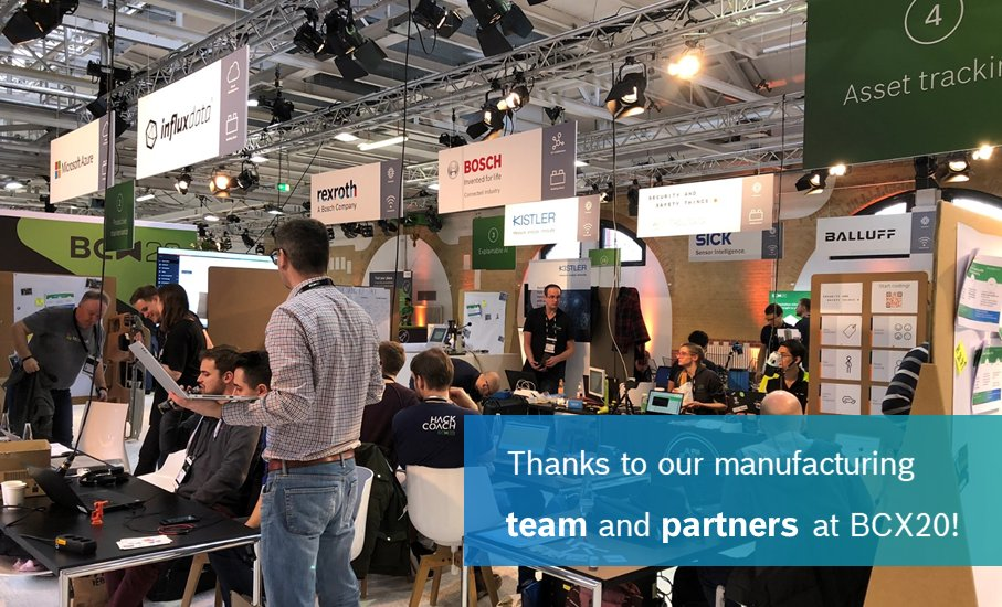 Time flies when you're having fun…  And we definitely did at #BCX20. THANKS to an amazing team for the organization and to our partners for their support! #IIoT #hackathon #Nexeed http://ow.ly/4OYn50ywp6K pic.twitter.com/6oO5mKCsfA