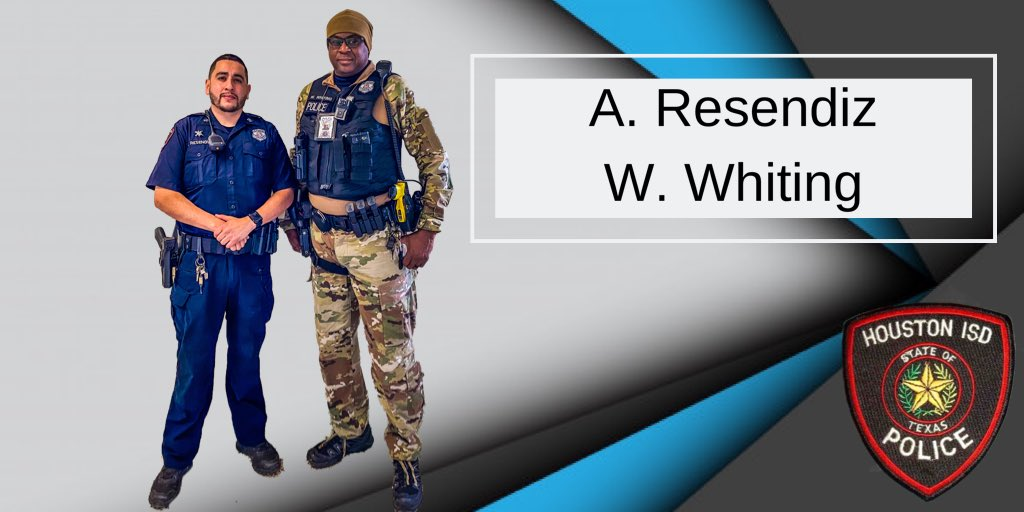 @paulscordova @TeamHISD Congrats ERT Officer Resendiz-Trejo.