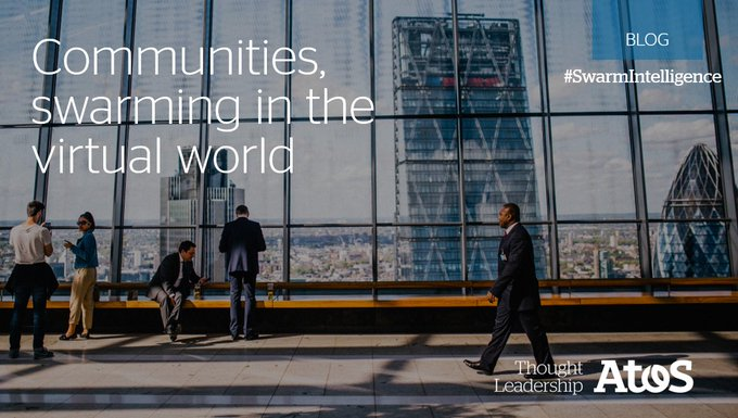 As we see communities professionalize through adopting #SwarmIntelligence principles, we will...