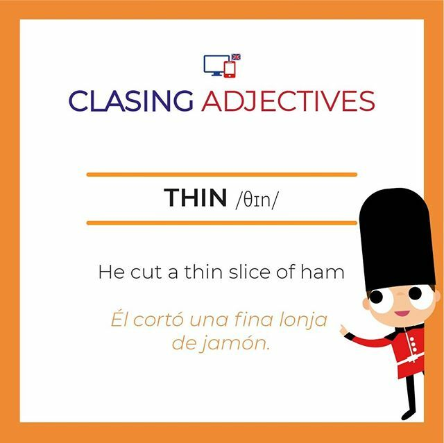"¡Clasinito te ayuda a aprender!⠀⠀⠀⠀ ⠀⠀⠀⠀ ¿serias capaz de hacer una frase con ""thin""?⠀⠀⠀⠀ ⠀⠀⠀⠀ ¡Venga no seas vergonzos@!⠀⠀⠀⠀ ⠀⠀⠀⠀ #adjectives #inglesbasico #ieltspreparation #englishlearning #cambridgeexamspic.twitter.com/WWMZYon1dJ"