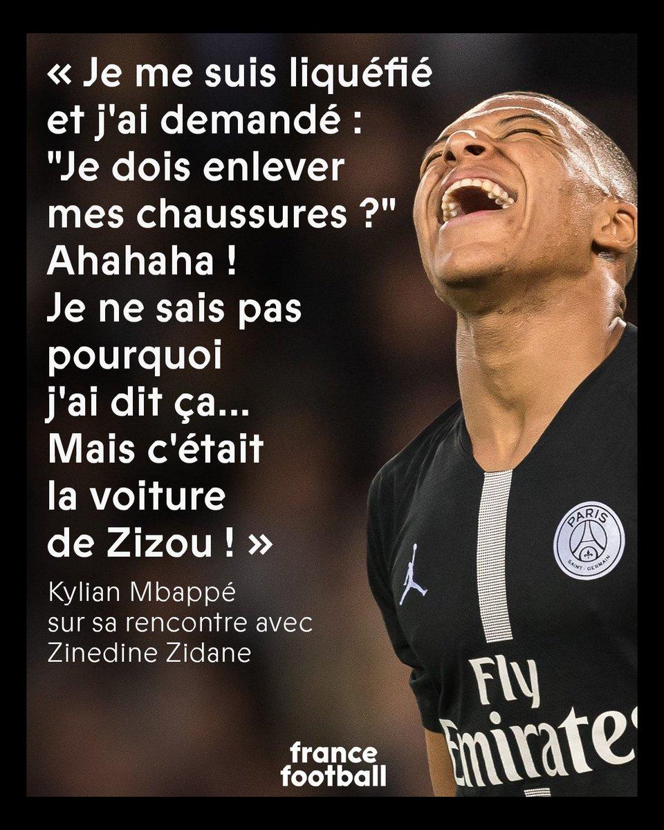 Quand Zidane impressionnait Mbappé : ow.ly/42vX30qkUaK