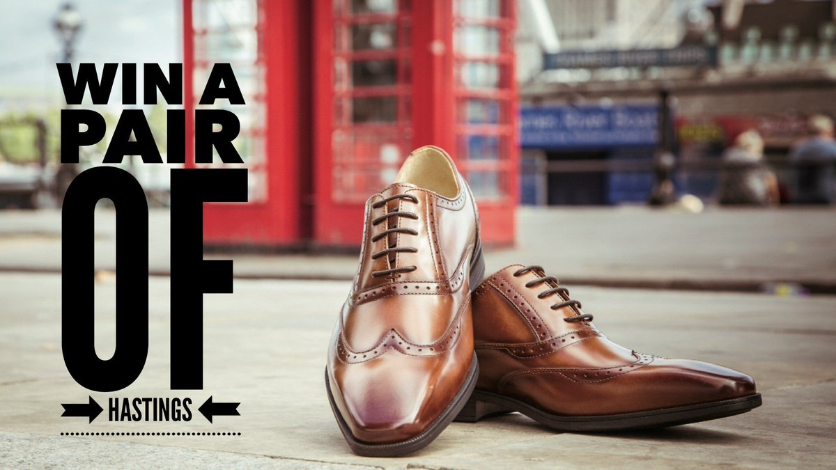 ☆ ☆ ☆ It's competition time ☆ ☆ ☆  Want to win a pair of our best selling Hastings in black or cognac leather? To enter:  Like this post  Follow @SteptronicShoes Tag a friend.  Winner will be selected at random on Monday 2nd March. pic.twitter.com/2ThAm8nbbZ