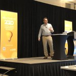 Image for the Tweet beginning: Graham Reed @VariaSolutions starts the