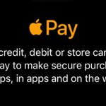 Image for the Tweet beginning: You can use #ApplePay in