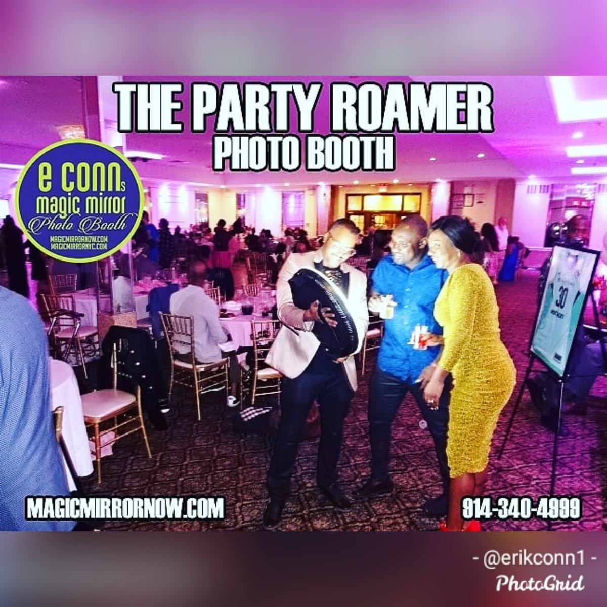 Marketing! Let's Go! Rent the Tri-States #1 E Conn's Magic Mirror Photo Booth and http://ThePartyRoamer.com   #blackexcellence #thepartyroamer #partyroamernyc #magicmirror #mirrormebooth #photobooth #birthdays #weddings #corporateevents #prom #graduations #westchestereventspic.twitter.com/7q9o7KzgyQ