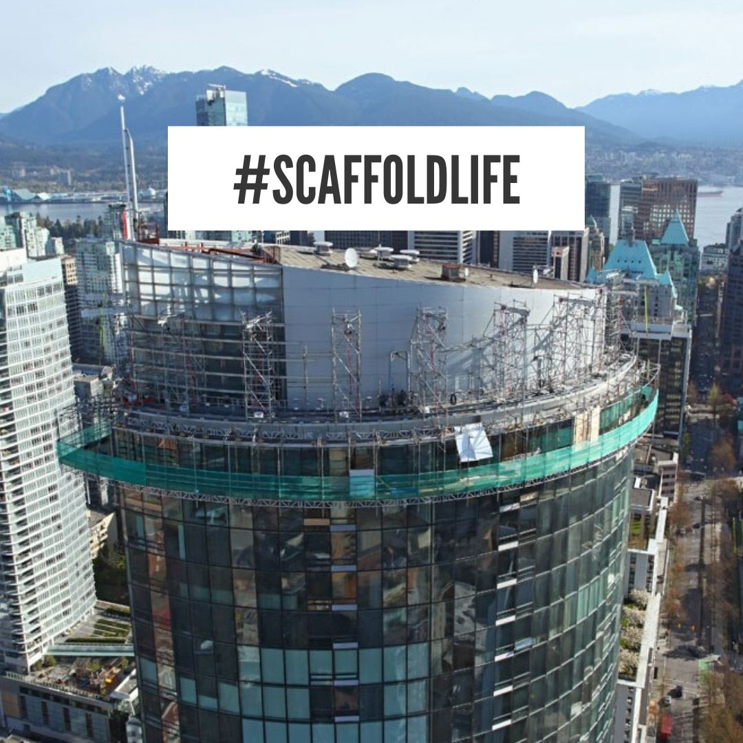 Project Details: A multi point suspended scaffold was custom made to access the top 17 floors of the 48 story building. . . #scaffoldlife  #sspglobal  #scaffold #construction #news #work #project #engineering #steel #exit  #safety #architecture #concrete #building