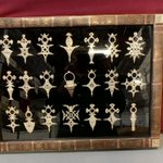 🤔 Running low on amulets? You're in luck! Check out this framed set of 21 silver amulets up for public #auction from https://t.co/PuDVngh8OH.   😲 You won't believe the low bidding start price! https://t.co/CtgNsEkuy7