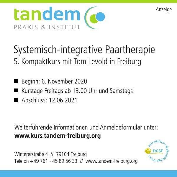 Systemisch-integrative Paartherapie Kompaktkurs – 6.11.2020 –12.6.2021 https://systemagazin.com/systemisch-integrative-paartherapie-kompaktkurs-6-11-2020-12-6-2021/…pic.twitter.com/Hb1TYmzxcW