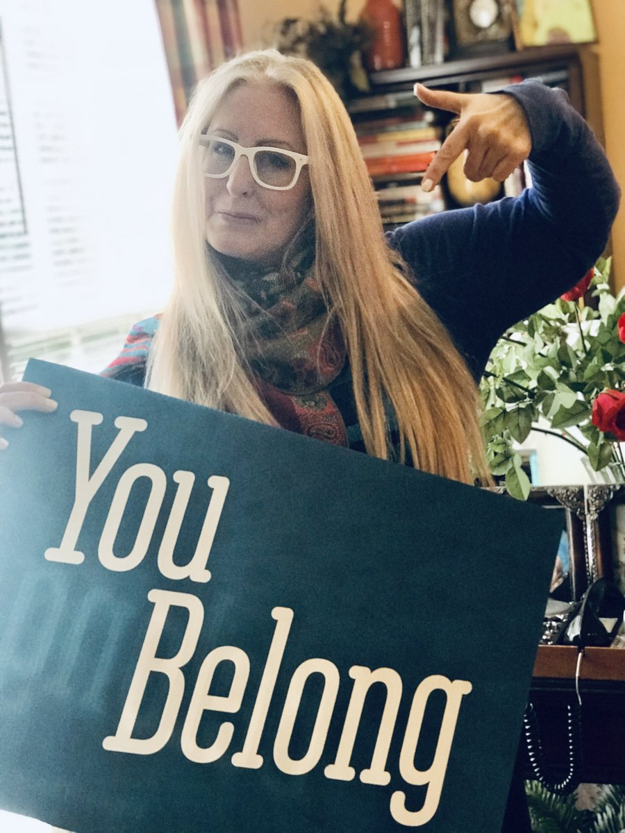 Today's sign of the day is YOU BELONG! You belong to something bigger than yourself, and you are so loved. You were made to belong in this world.   #Belonging #Happy #Kindness #LifeCoach #SelfHelp #PersonalDevelopment #Coaching #LifeArchitect #PsychK