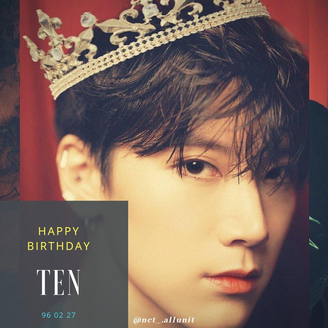 Happy Birthday Ten #HAPPYTENDAY  #HAPPYTENDAY2020  #TENBDAY2020pic.twitter.com/qMsYOdYsMf