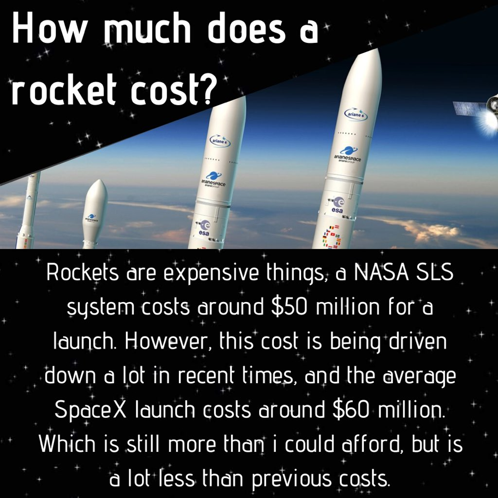 Rockets are getting cheaper, which is a huge plus for the space industry.  As well, this will help make commercial space flight possible.   ————————————————— #elonmusk #spacex #nasa #nasa#rocket #commercialspaceflight  #thequantummechanic #aerospaceengineering pic.twitter.com/2c0P7YM5mH