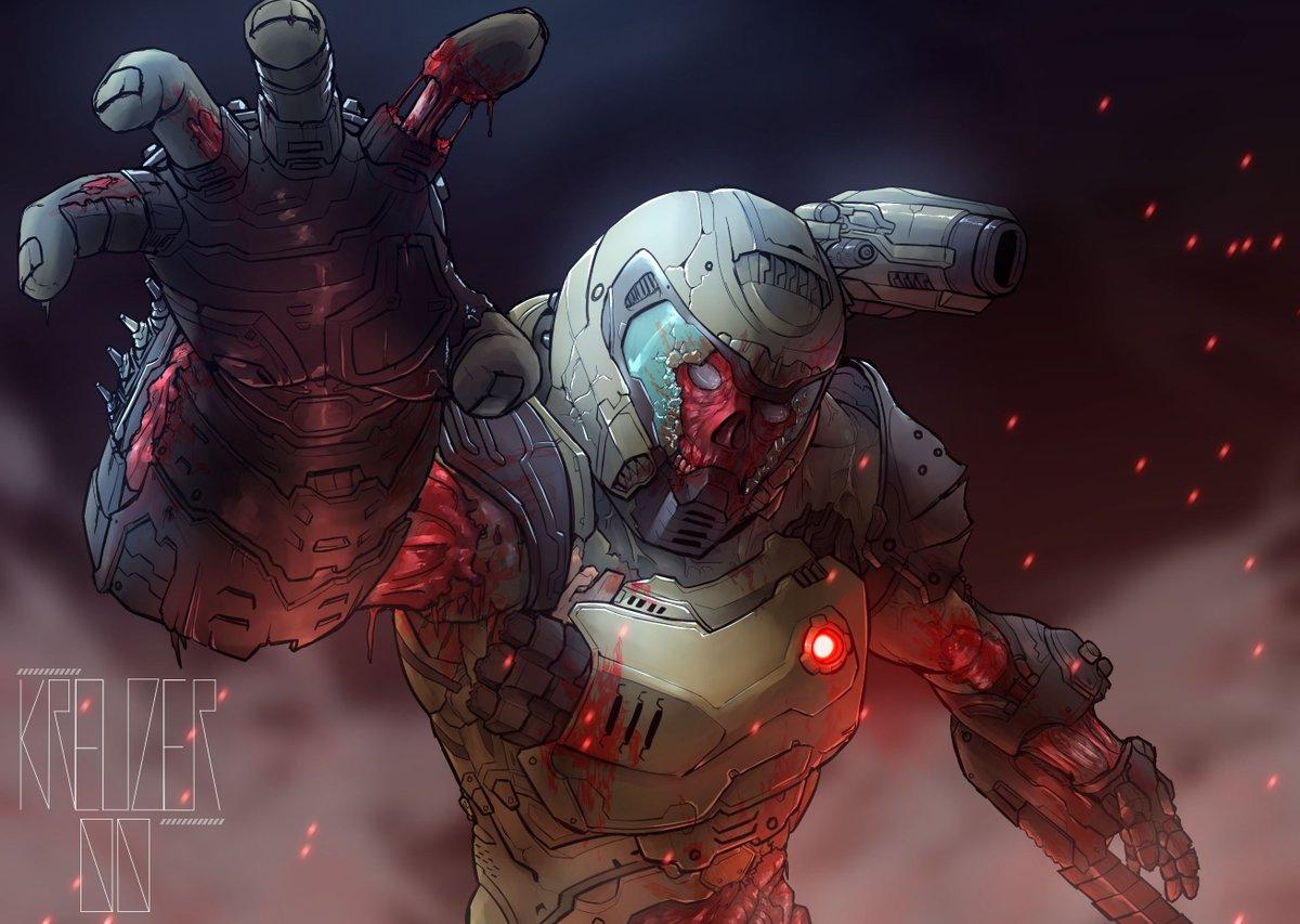 Kreuzer On Twitter I Like The Idea Of Zombie Doom Slayer