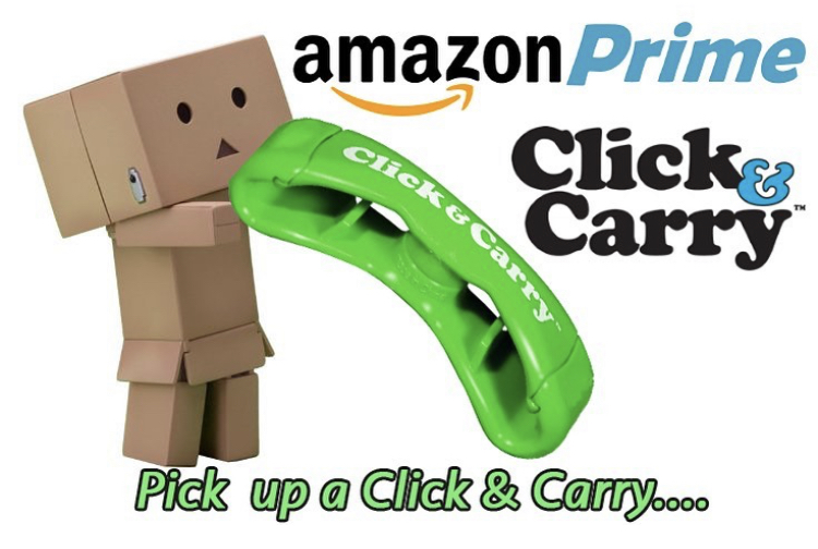 Pick up a Click & Carry and it'll help you pick up your supplies! Search for us on Amazon or check us out at  . #swag #Christmas #smile #dog #pride #mood #clickandcarry #handsfree #amazonprime #qvc #groceryhaul #entrepreneur #holidays #work  #travel