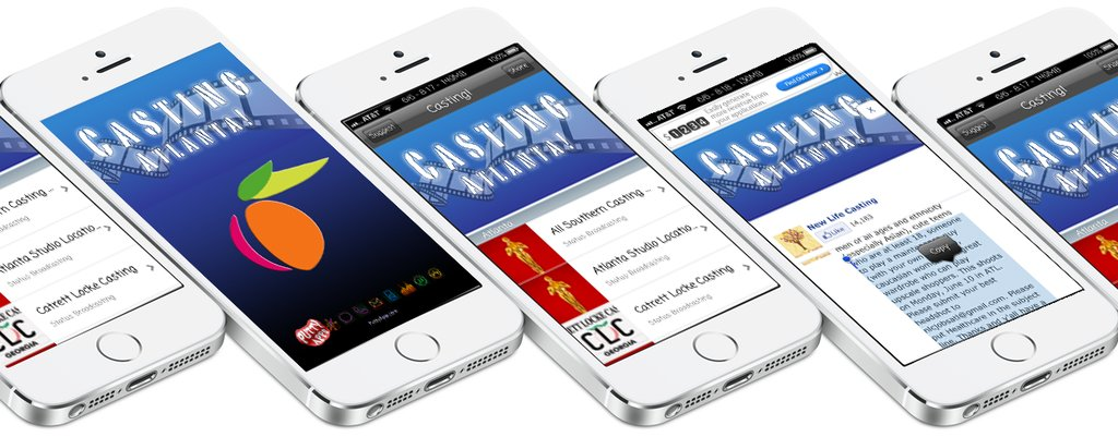 Movie Casting Jobs in #Atlanta  #FREE on #iPhone, #Android, and #Amazon #AppStore. #Casting #Atl #work #job #careers