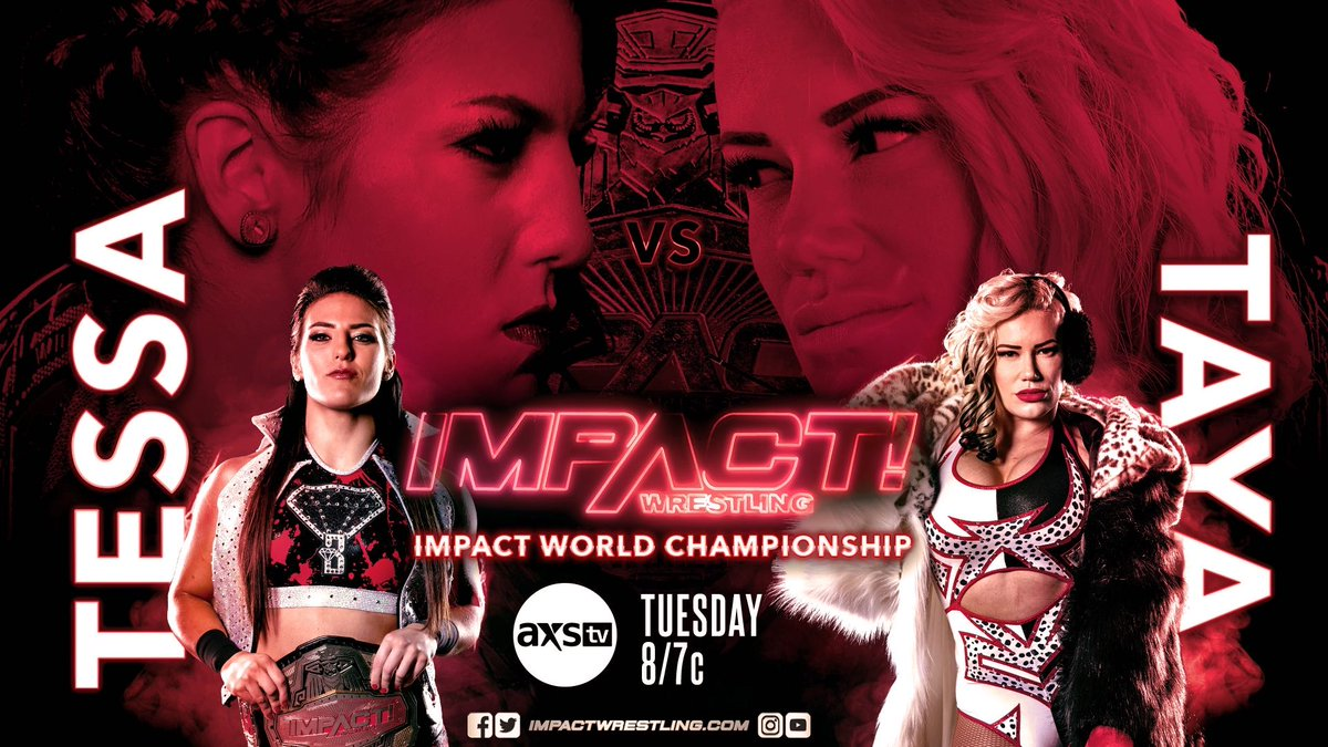 IMPACT Wrestling History To Be Made With First All-Women's World Title Match Next Week