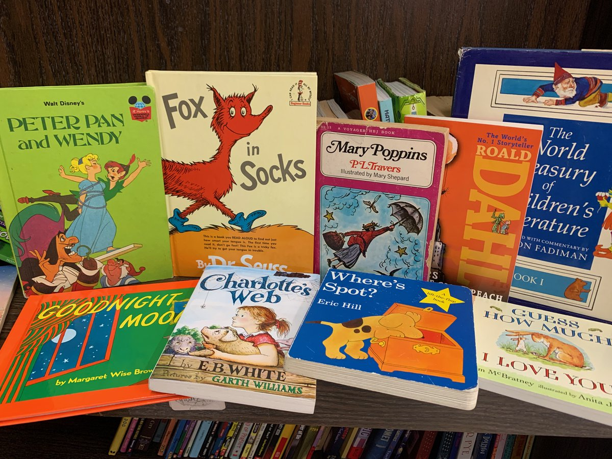 From Mary Poppins to Goodnight Moon, arc Thrift Stores has all the children's books classics you could ask for! #arcThriftStores #ChildrensBooks #ClassicBooks #Thrift #GoodnightMoon #MaryPoppinspic.twitter.com/Brdg0suqjT