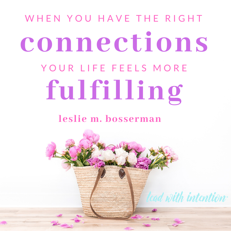 When you're connected to community, you have meaningful relationships:   #Connection #Blog #LeadWithIntention #Leadership #Lead #Millennials #Life #Work #Success #Entrepreneur #Influence #Motivation #Training #Consulting #Coaching #Sacramento #California