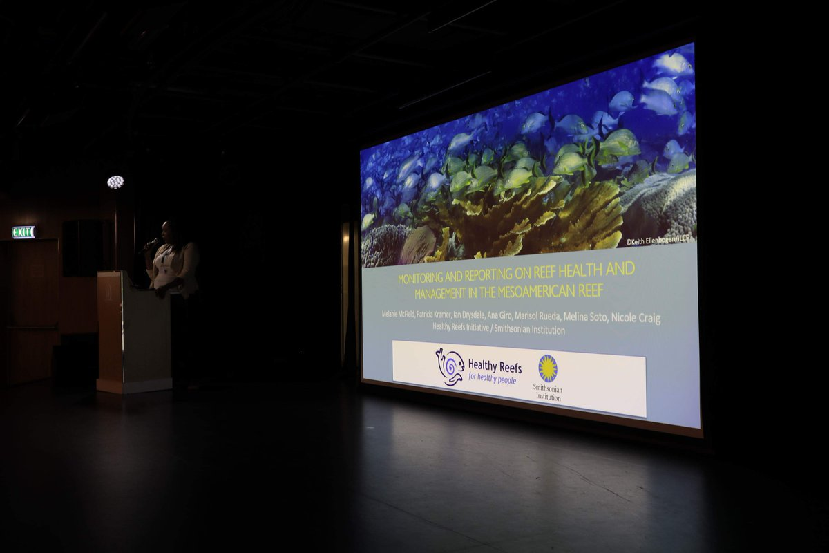 test Twitter Media - Our Belize Coordinator, Nicole Craig, was recently invited to give a talk on a small ship of the Tauck company. Nicole gave a talk about the importance of the Mesoamerican Reef (MAR), it's current health, tourism impacts on the reefs and it's recommendations for management.👏 https://t.co/ljuyLnhYS1