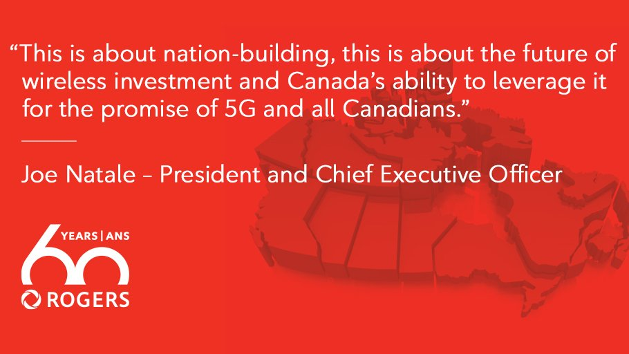 CEO Joe Natale on the importance of investing in Canada #CDNpoli #CRTC #CDNtech