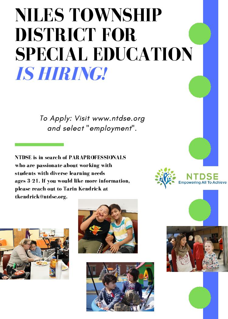 Ntdse On Twitter Niles Township District For Special Education Is Hiring Paraprofessionals Teaching Assistants We Offer Great Benefits And Competitive Pay Https T Co Obyo8evnkx This google™ translation feature, provided on the employment development department (edd) website, is for. twitter