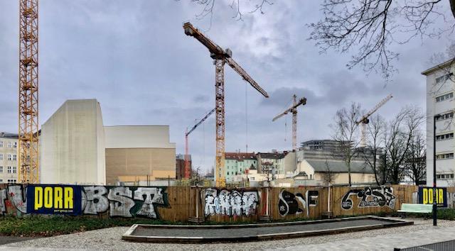 Baustelle zwischen Gerichtstraße und Lindower Straße #Wedding