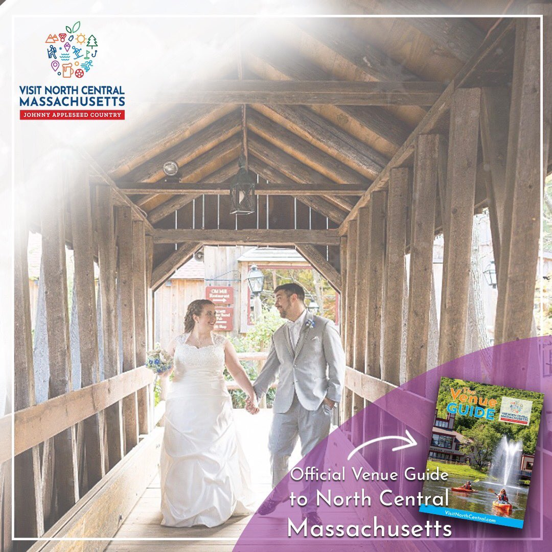 Wedding Venue Wednesday | Old Mill of Westminster, MA  Get the full details on this venue and more in the official 2020 Venue Guide of North Central Massachusetts:    #wedding #venue #massachusetts #weddingvenue #weddinginspiration #johnnyappleseedcountry