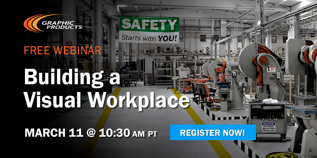 Join us for a free webinar! Get tips on reducing all forms of waste, learn ways to identify information gaps and problems, and develop visual standards to improve workflow and the workplace.  #business #webinar #work #waste