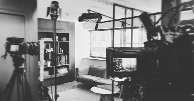 Shooting 🎥 #picoftheday #video #tournage #blackandwhite #paris #work