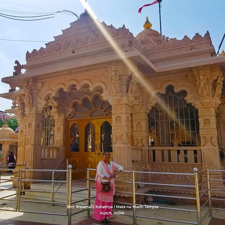 Mata no Madh is an ancient temple dedicated to the Kuldevi of Jadeja  The original 1200-year-old temple was demolished twice due to earthquakes  #ashapura #temple #traveltheworld #amazingplaces #beautifulplacespic.twitter.com/owBow34SBN