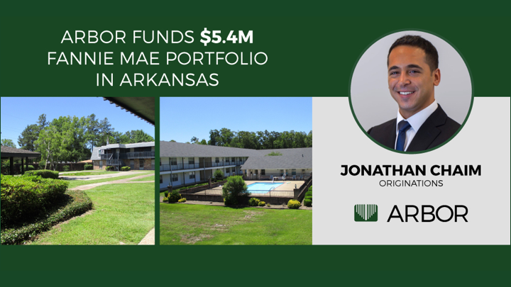 A job well done by Arbor's Jonathan Chaim on closing a $5.4M Fannie Mae Portfolio in Arkansas!   Learn more about the deal: http://bit.ly/2uy1Wt1  #ArborRealtyTrust #RealEstate #CRE #MultifamilyRealEstate #MultifamilyHousingpic.twitter.com/oxdkKbj8gy