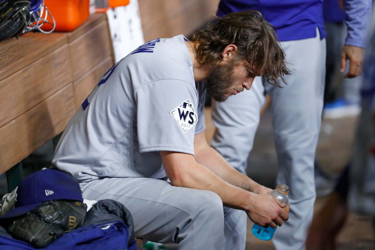 Clayton Kershaw threw 51 breaking balls in Game 5 of the 2017 World Series.  Not a single pitch resulted in a swing and miss.   (H/t Tom Verducci)