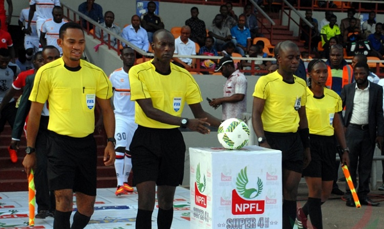 NFF ASSURES REFEREES OF PROTECTION -  http://www. brila.net/nff-assures-re ferees-of-protection/  …  <br>http://pic.twitter.com/c4GUnkF534