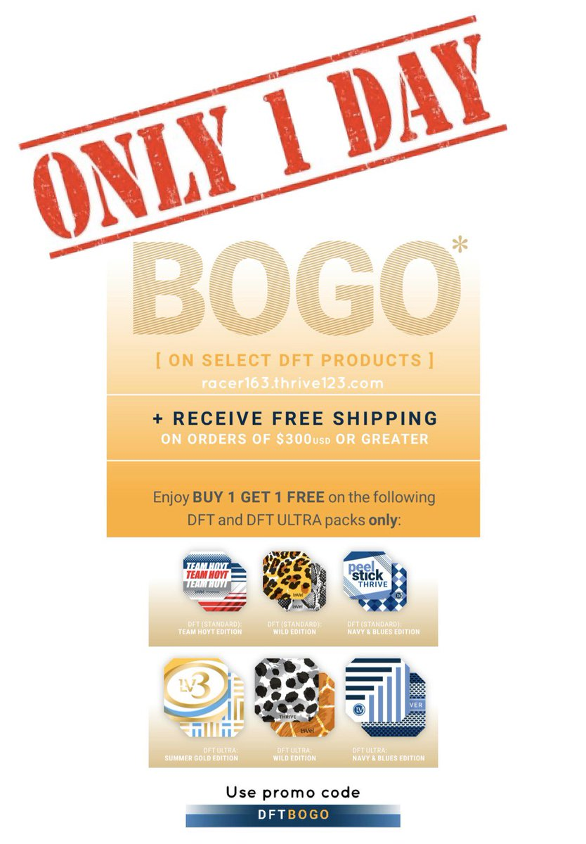 Click here to get your BOGO http://racer163.thrive123.com #thrivinracer163 #livinourbestlives #noexcuses #thrivelife #live #happy #fit #love #premiumnutrition #energyiseverything #fitnessgoals #purposedrivenlife #fitnessmotivation #keto #weightlosstransformation #healthylivingpic.twitter.com/VymNKgPhoH