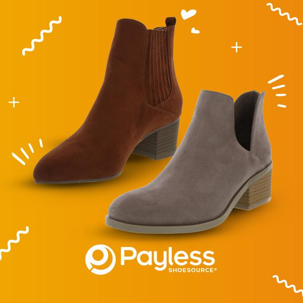 Nuestras botas chic, combinadas con jeans, vestidos o faldas son la fórmula perfecta para expresar tu estilo.  👢 ✨ *Compra un artículo y llévate el segundo de igual o menor valor a la mitad del precio marcado por Payless Shoesource! *Válido del 25 de febrero al 9 de marzo https://t.co/6KICKP8rKK