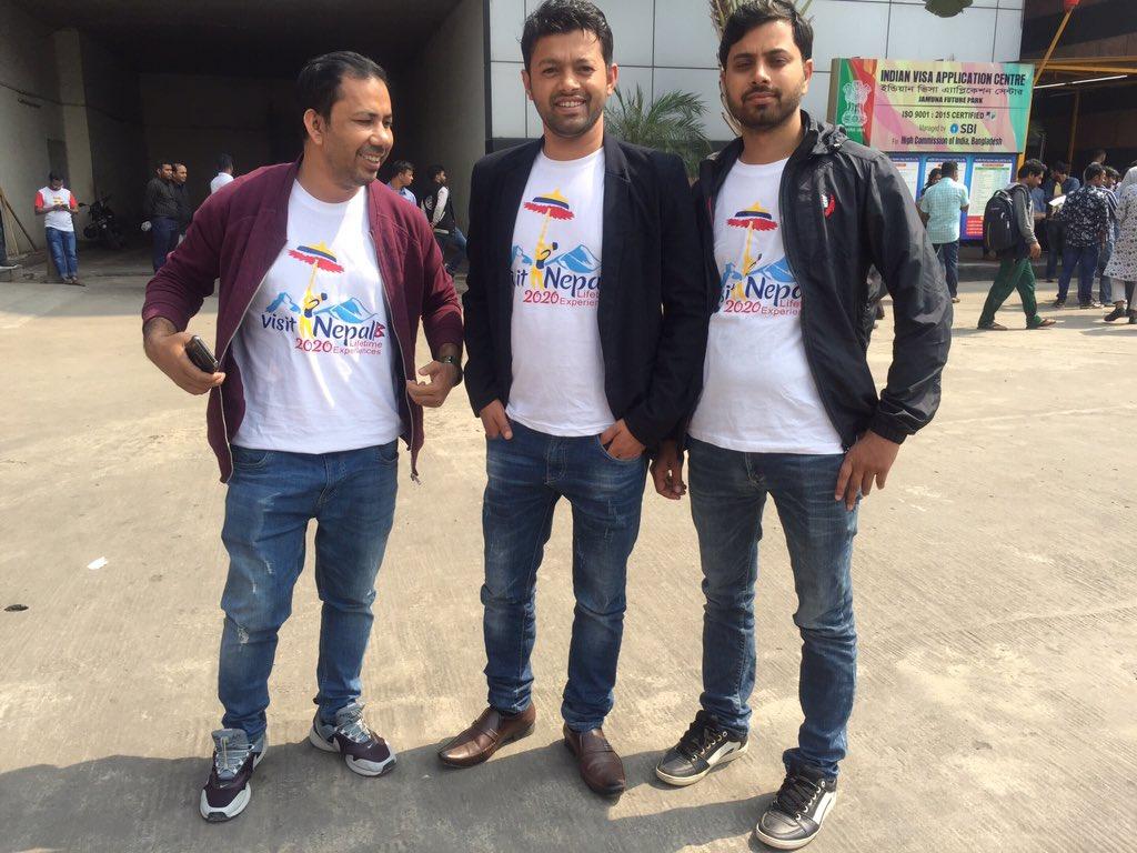 promoting #visitNepal2020 pic.twitter.com/0YQQx6k9AT