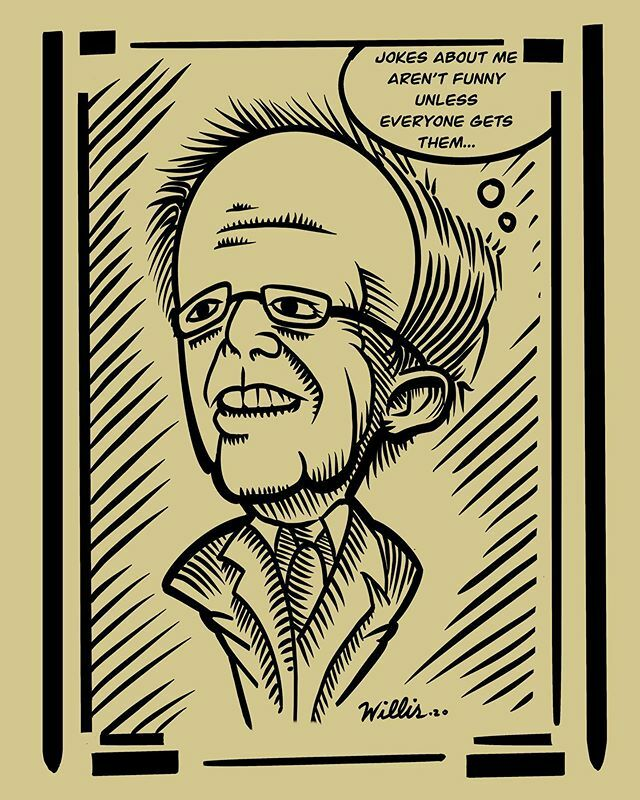 Bernie Sanders Caricature #caricature #berniesanders #drawing #dailydrawing #digitaldrawing #procreatedrawing #cartoon #politicalcartoons #berniesanderscaricature #berniesanderscartoon https://ift.tt/3a9z2hI pic.twitter.com/q0qJcm45SE
