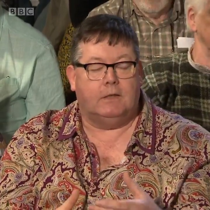 """""""You don't know what I think, you probably don't even care what I think."""" This audience member says the Conservatives' """"arrogance"""" is stopping them from accepting that Scotland wants another independence referendum #bbcdn"""