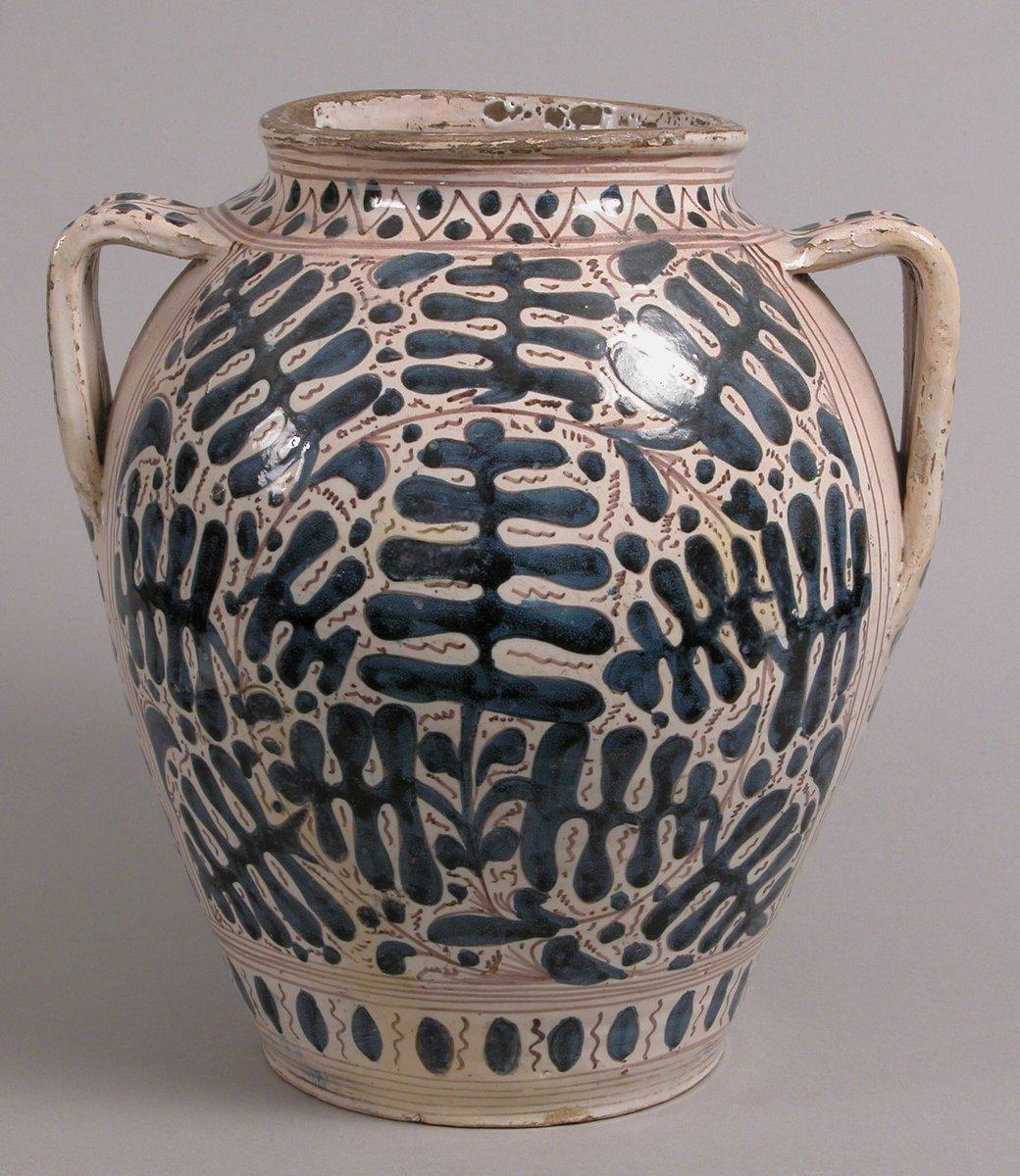 Two-Handled Jar  #MedievalArt #metmuseum