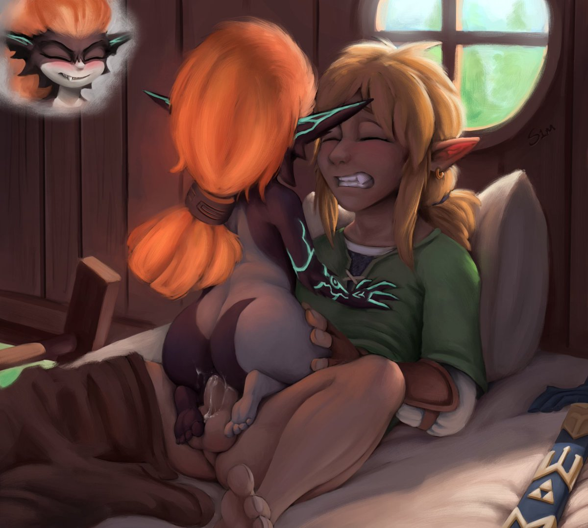 Finished something at lastMidna/Link lewds