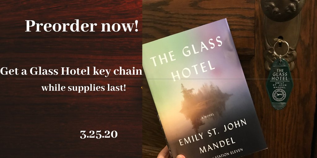 The Glass Hotel Book Cover