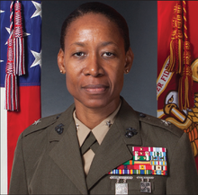 """I'm sure you all heard about this in the """"news.""""  The first black, female Brigadier General Lorna Mahlock. Originally from Kingston, Jamaica. I'm not a fan of the MIC but I do dig badass individuals. pic.twitter.com/Ys2SfdlRCo"""