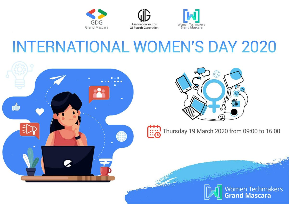 """They said :""""There is no limit to what we, as women, can accomplish."""" Now Guuuuys ! You know what  !? The BIGGEST event for the FIRST TIME in Mascara IWD yaaaayy ! A lot of surprises and a beautiful speeches are waiting for you Let's celebrate the achievements of women together <br>http://pic.twitter.com/qyMoi4AOBi"""